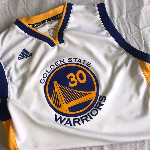 on sale 238a7 fd25f Curry Jersey Golden State Warriors Adidas Youth Lg